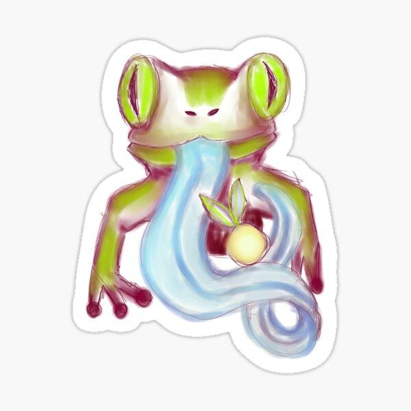 Froggie doodle Sticker