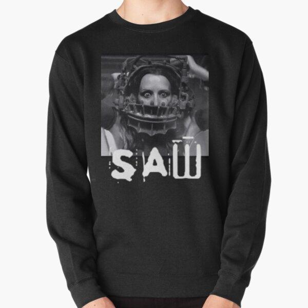 Saw horror movie amanda bear trap  Pullover Sweatshirt