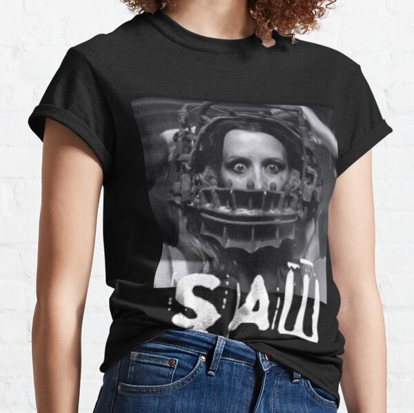 Saw horror movie amanda bear trap  Classic T-Shirt