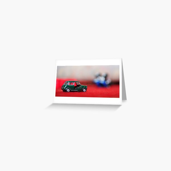 A mini Mini.... Greeting Card