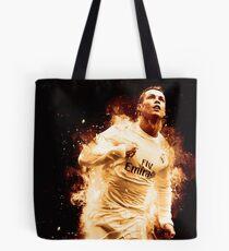 Cristiano Ronaldo 'CR7' Fire Design Tote Bag