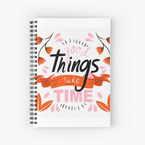 Inspirierende Motivationsprodukte Design Print on Demand Spiralblock
