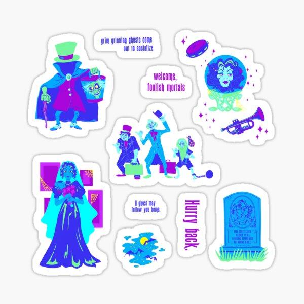 Happy Haunts.  Sticker