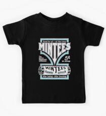 Mintees (White - 3D) Kids Tee