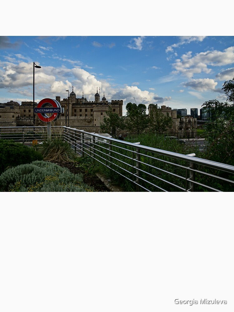 London Underground and the Tower of London by GeorgiaM