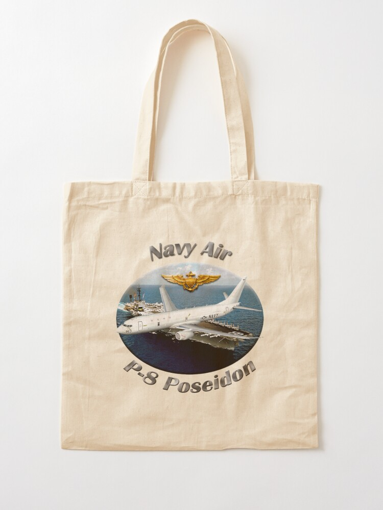 Alternate view of P-8 Poseidon Navy Air Tote Bag