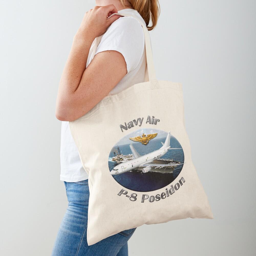 P-8 Poseidon Navy Air Tote Bag
