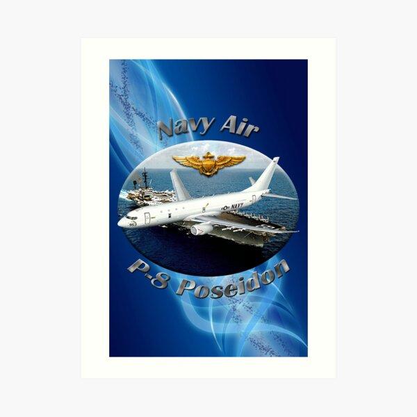 P-8 Poseidon Navy Air Art Print