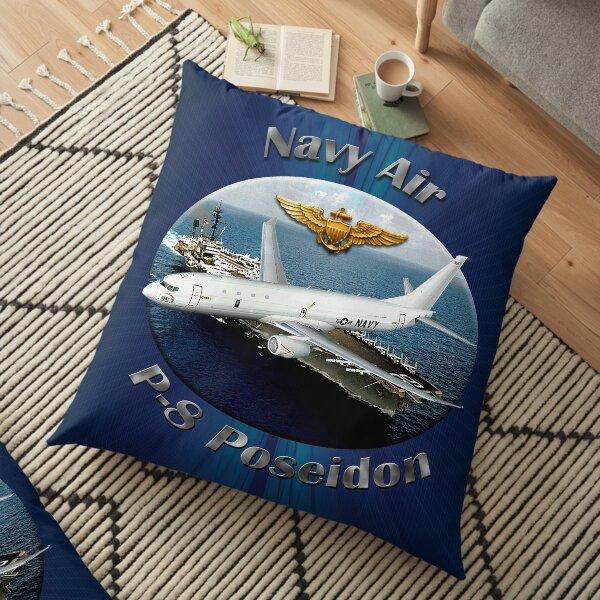 P-8 Poseidon Navy Air Floor Pillow