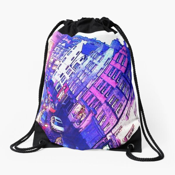 Evening Scenery Drawstring Bag
