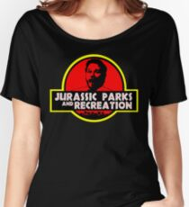 Jurassic Parks and Recreation Women's Relaxed Fit T-Shirt