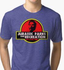 Jurassic Parks and Recreation Tri-blend T-Shirt