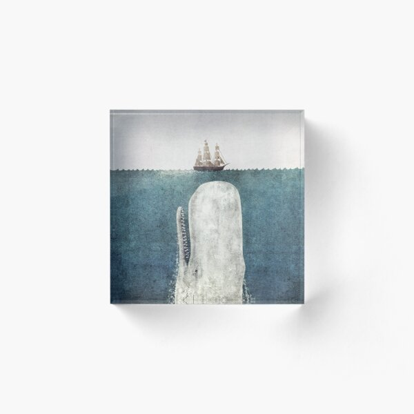 The White Whale  Acrylic Block