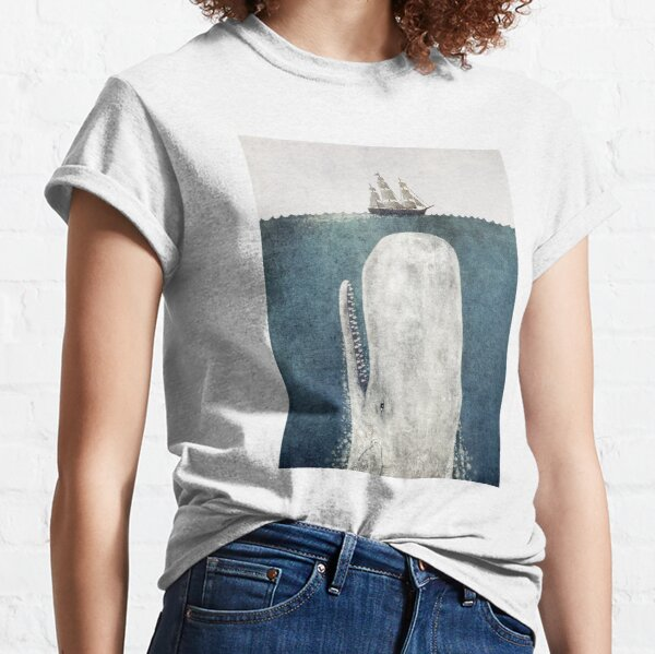 The White Whale  Classic T-Shirt