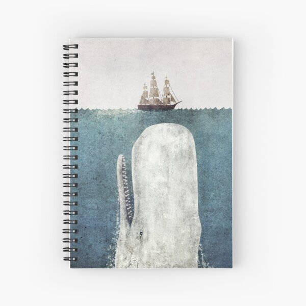 The White Whale  Spiral Notebook