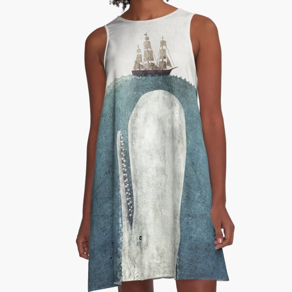 The White Whale  A-Line Dress