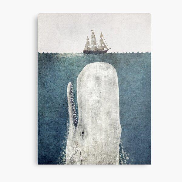 The White Whale  Metal Print