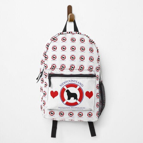 Newfoundland - Maximum Propulsion, Black Newf Backpack