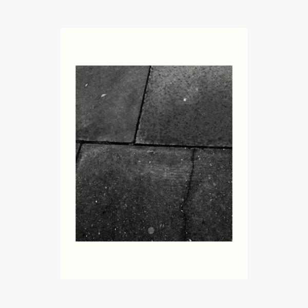 Don't Step On the Cracks Art Print