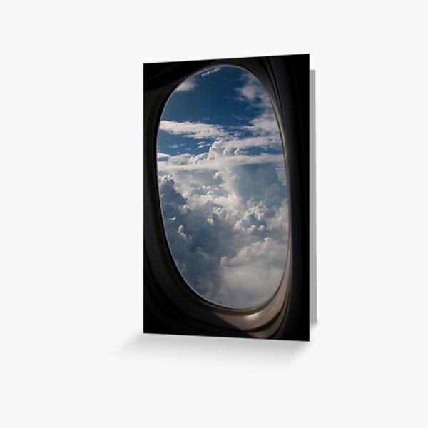 Lost in the Clouds Greeting Card
