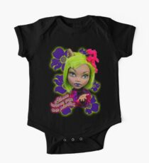 Blooming Clawdeen One Piece - Short Sleeve