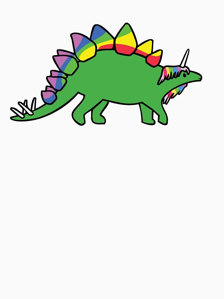 Stegocorn (Einhorn Stegosaurus) von jezkemp