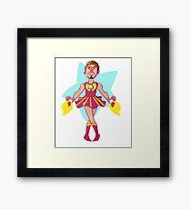 Sailor Iron Framed Print