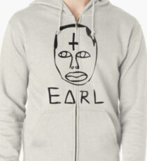 Earl Sweatshirt Galaxy  Zipped Hoodie