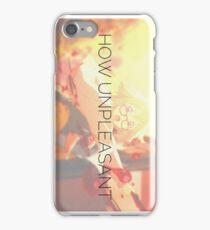 How Unpleasant iPhone Case/Skin