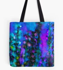 Abstract Art Floral Duvet Cover Tote Bag