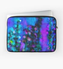 Abstract Art Floral Duvet Cover Laptop Sleeve
