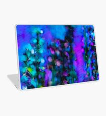 Abstract Art Floral Duvet Cover Laptop Skin