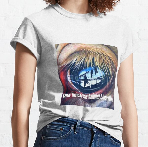 One Voice For Animal Liberation Classic T-Shirt