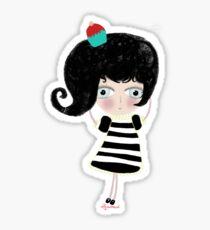 Doll la mer petite cupcake berry pirate sweet tresaure Sticker