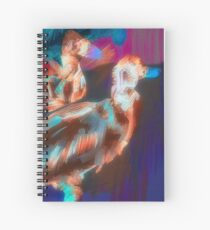Abstract Duck Art Spiral Notebook Spiral Notebook