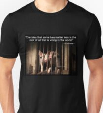 Speciesism - Pigs in a Cage T-Shirt