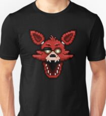 Five Nights at Freddy's 1 - Pixel art - Foxy Unisex T-Shirt