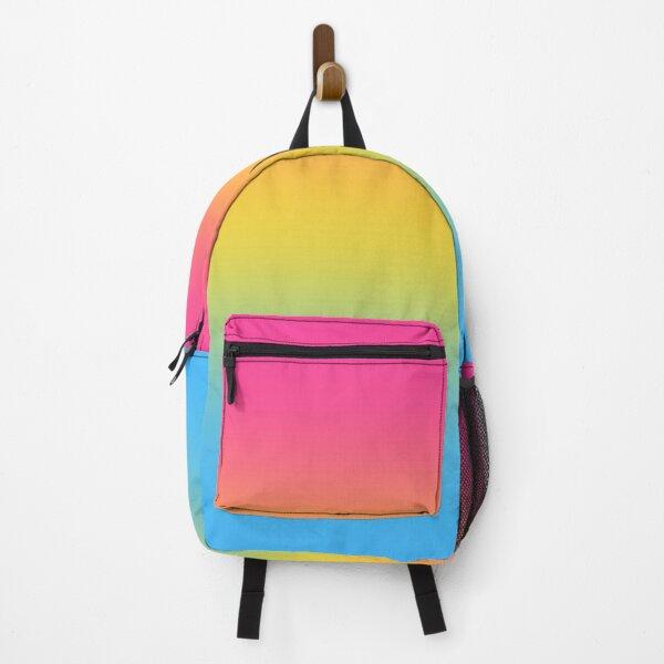 Pansexual Pride Flag Gradient Backpack