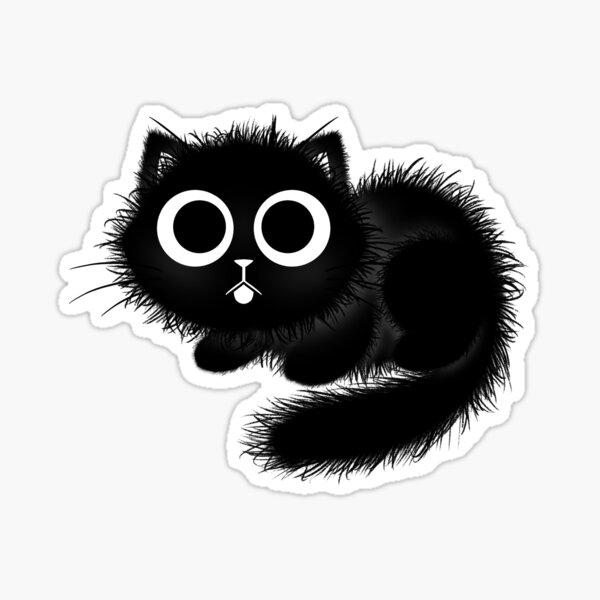 Floofy Kitten Sticker