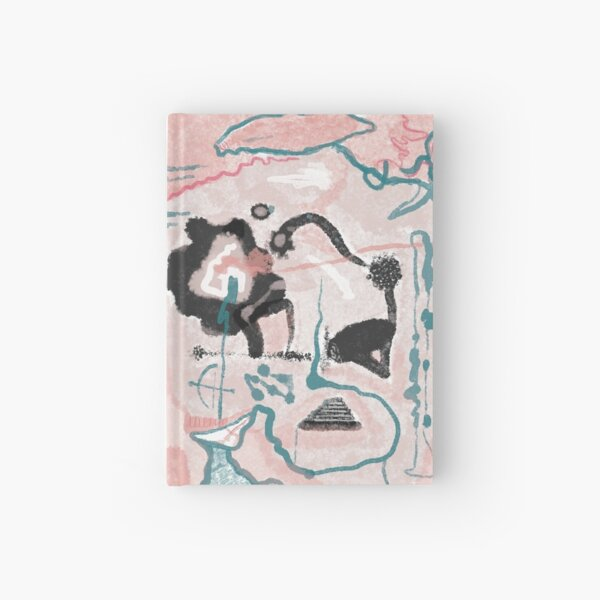 Ink blot Geography Hardcover Journal
