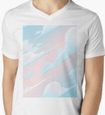 4418f80aa8d1 Up In The Clouds Men's V-Neck T-Shirt