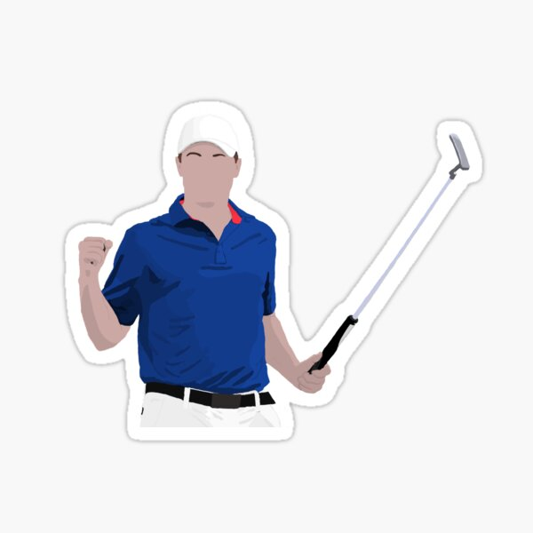 "Jordan Spieth   ""Major Champion"" Sticker"