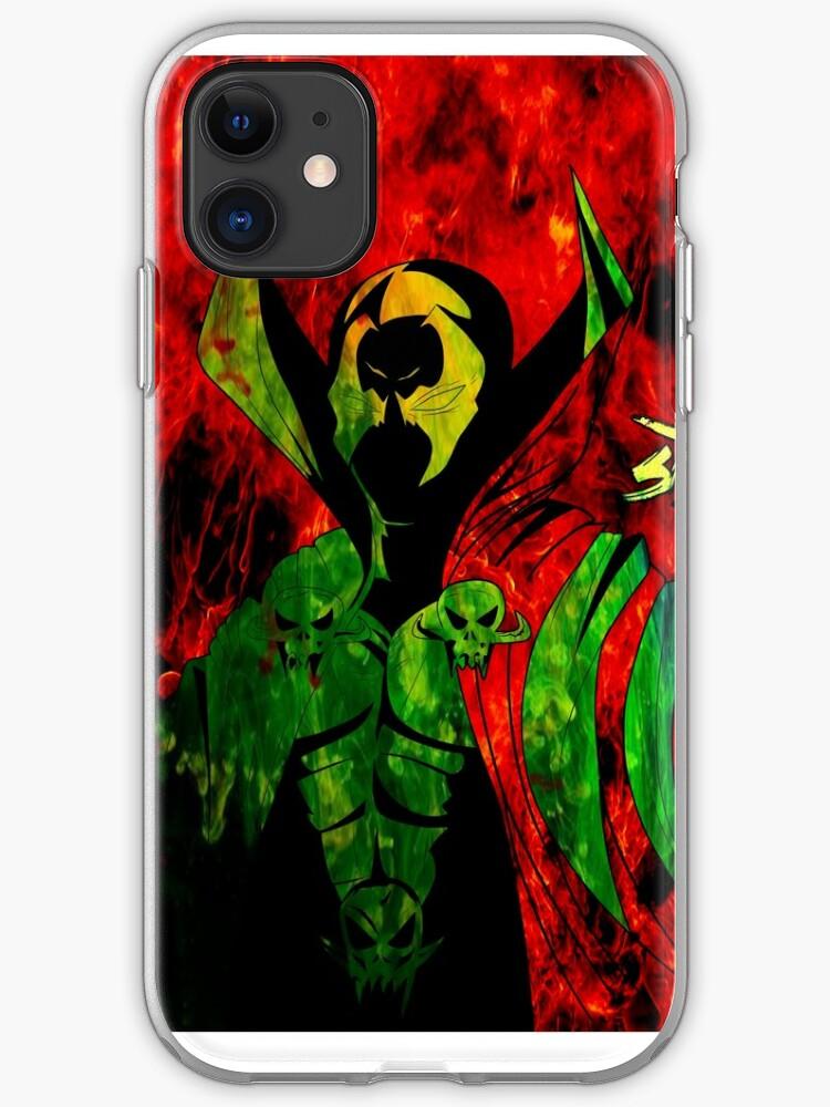 Spawn Superhero iphone case
