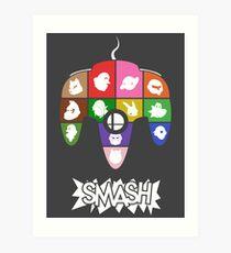 Smash 64 Poster Art Print