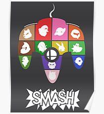 Póster Cartel de Smash 64