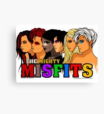 The Mighty Misfits 2016 Canvas Print
