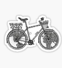 World Tour Bike Sticker