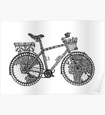 World Tour Bicycle  Poster