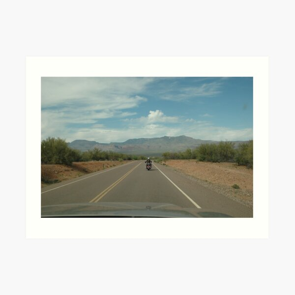 Arizona State Highway 88 Art Print