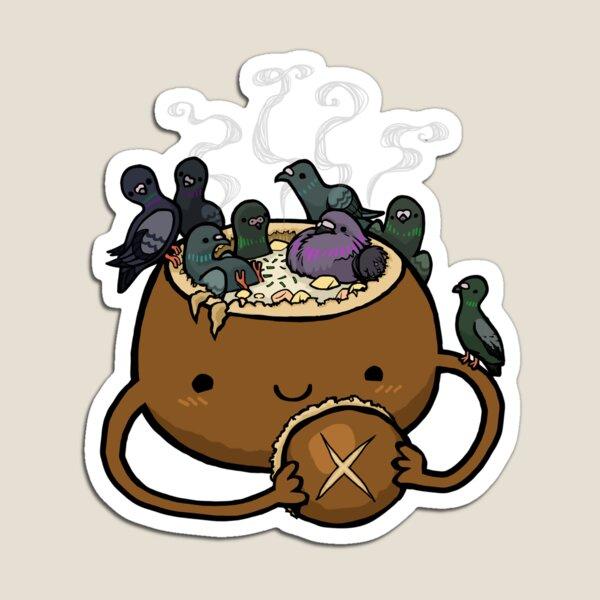 Chowder Bowl :: Carnivorous Foods Series Magnet